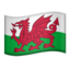 flag: Wales Emoji on Apple, iOS