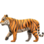 Emoji de tigre en Apple, iOS