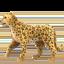 leopard Emoji on Apple, iOS