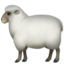 ewe Emoji on Apple, iOS