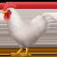 鸡上的Apple, iOS表情符号