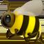 honeybee Emoji on Apple, iOS