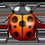 lady beetle Emoji on Apple, iOS