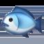 fish Emoji on Apple, iOS