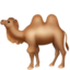 camel Emoji on Apple, iOS