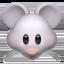mouse face Emoji on Apple, iOS