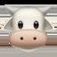 cow face Emoji on Apple, iOS