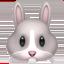 兔上的Apple, iOS表情符号