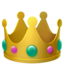 crown Emoji on Apple, iOS