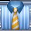necktie Emoji on Apple, iOS