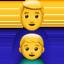 family: man, boy Emoji on Apple, iOS