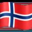 Emoji de bandera de Isla Bouvet en Facebook
