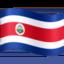 フェイスブックの旗: コスタリカ絵文字