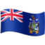 フェイスブックの旗: サウスジョージア・サウスサンドウィッチ諸島絵文字