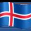 flag: Iceland Emoji on Facebook
