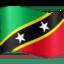 flag: St. Kitts & Nevis Emoji on Facebook