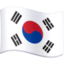 flag: South Korea Emoji on Facebook