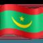 flag: Mauritania Emoji on Facebook
