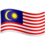 flag: Malaysia Emoji on Facebook