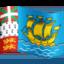 Emoji de bandera de San Pedro y Miquel贸n en Facebook