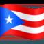 flag: Puerto Rico Emoji on Facebook