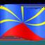 flag: Réunion Emoji on Facebook