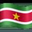 flag: Suriname Emoji on Facebook