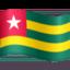 flag: Togo Emoji on Facebook