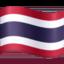 flag: Thailand Emoji on Facebook
