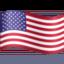 flag: United States Emoji on Facebook