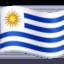 Emoji de bandera de Uruguay en Facebook