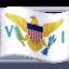 flag: U.S. Virgin Islands Emoji on Facebook