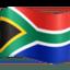 flag: South Africa Emoji on Facebook