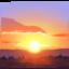 太阳上的Facebook表情符号