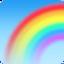 rainbow Emoji on Facebook