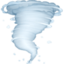 tornado Emoji on Facebook