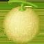 水果上的Facebook表情符号