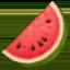 watermelon Emoji on Facebook