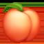 peach Emoji on Facebook