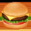 hamburger Emoji on Facebook