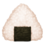 rice ball Emoji on Facebook