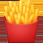 french fries Emoji on Facebook