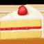 shortcake Emoji on Facebook
