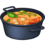 shallow pan of food Emoji on Facebook