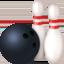 bowling Emoji on Facebook