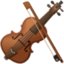 violin Emoji on Facebook