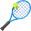 tennis Emoji on Facebook