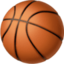 basketball Emoji on Facebook