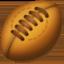 rugby football Emoji on Facebook