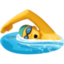 man swimming Emoji on Facebook